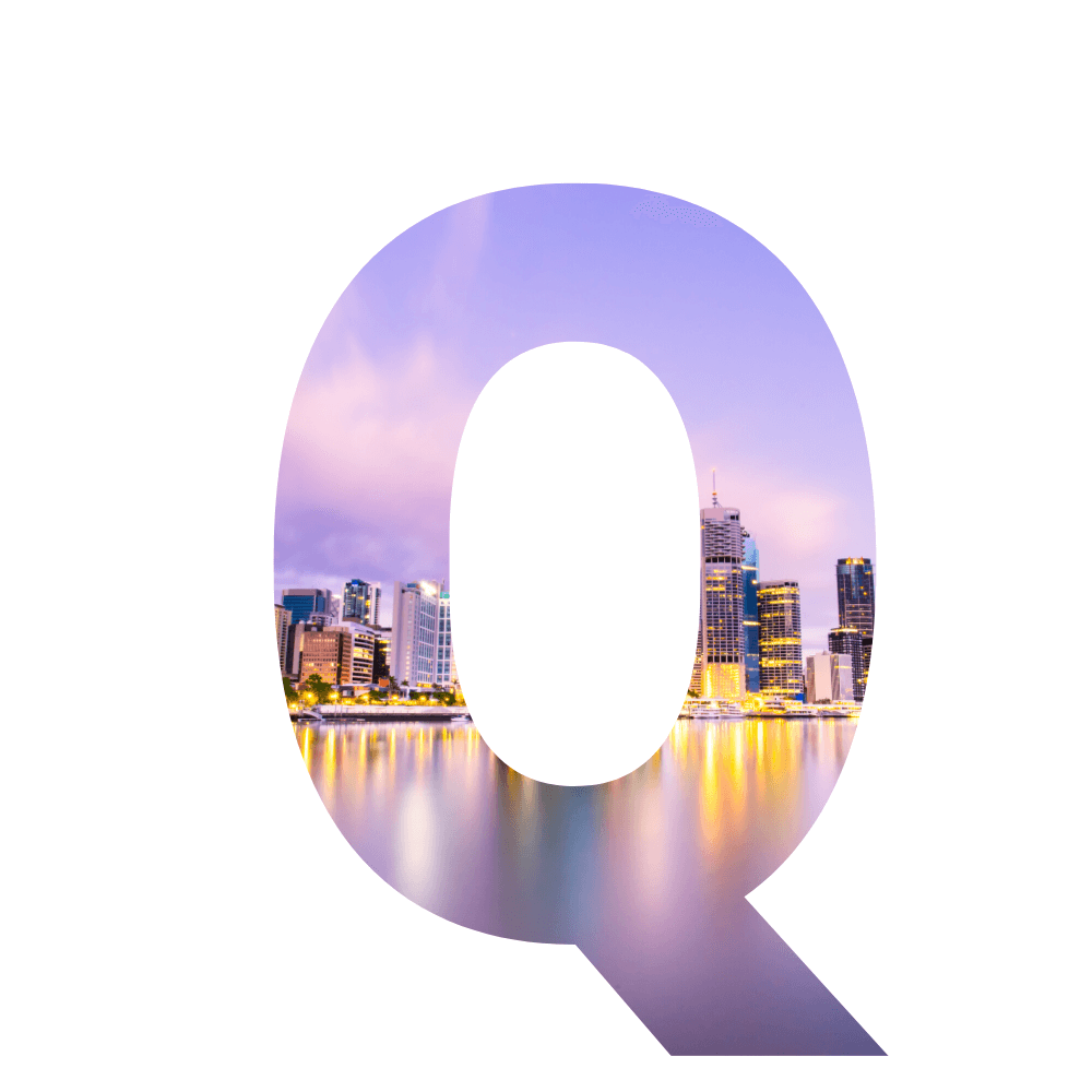 The letter Q for questions about learning to blog