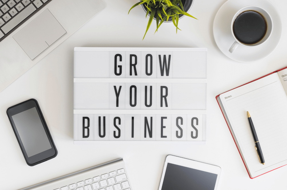 Grow Your Business Sign