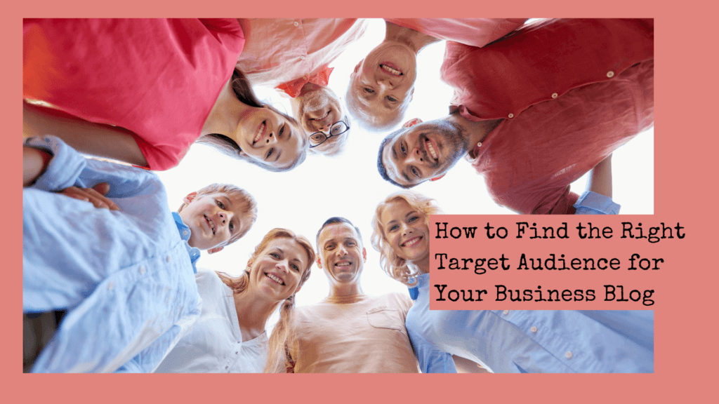 The right target audience for your blog post