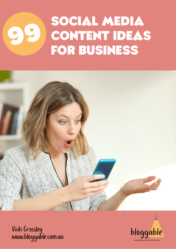 99 Social Media Content Ideas for Business Cover